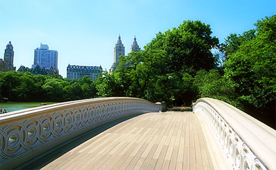 Weddings at the Bow Bridge in Central Park, New York